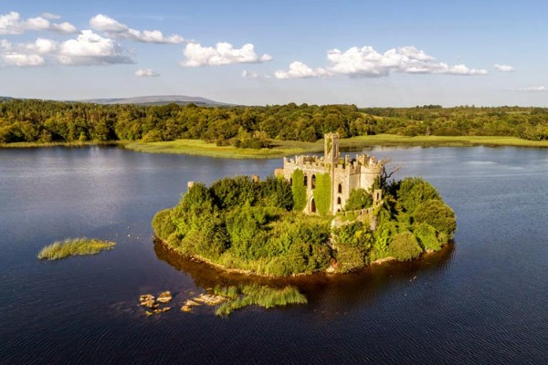 Location for Wedding Photographs : Castle Island, Lough Key, Roscommon